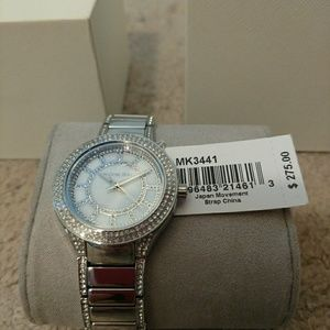 NWT Michael Kors Women's Stainless steel watch